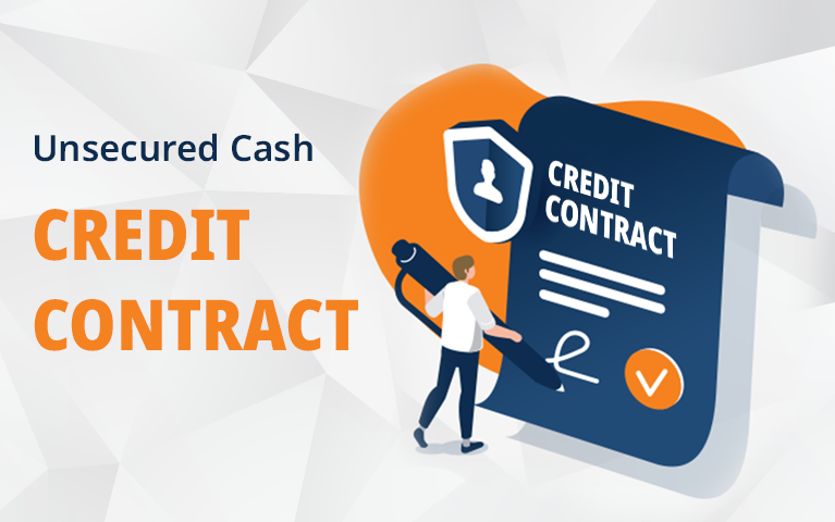 unsecured cash credit contract